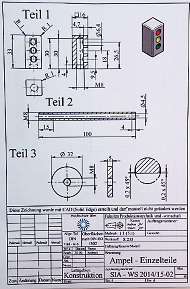 Technische Zeichnung Erstellen